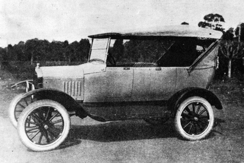 the new 1925 Ford